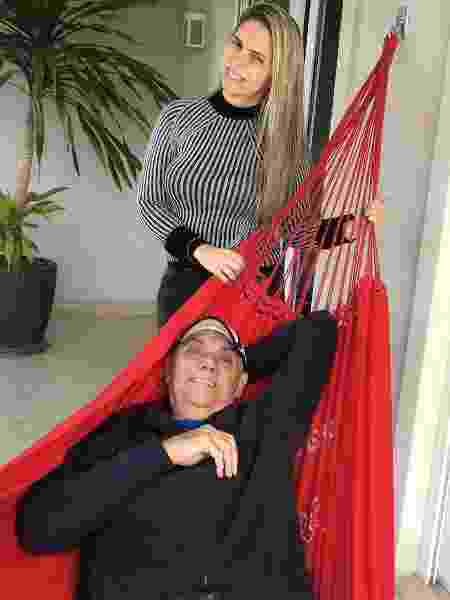 """Marcelo Rezende em primeira foto com a namorada, Luciana Lacerda. Na legenda, ele escreveu: """"Amor verdadeiro"""" - Reprodução/Instagram marcelorezende.oficial"""