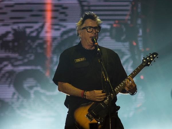 O guitarrista Noodles no Rock in Rio