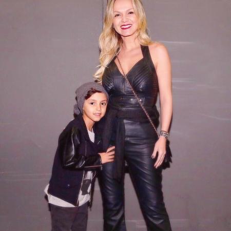 Eliana com o filho, Arthur - Reprodução/Instagram