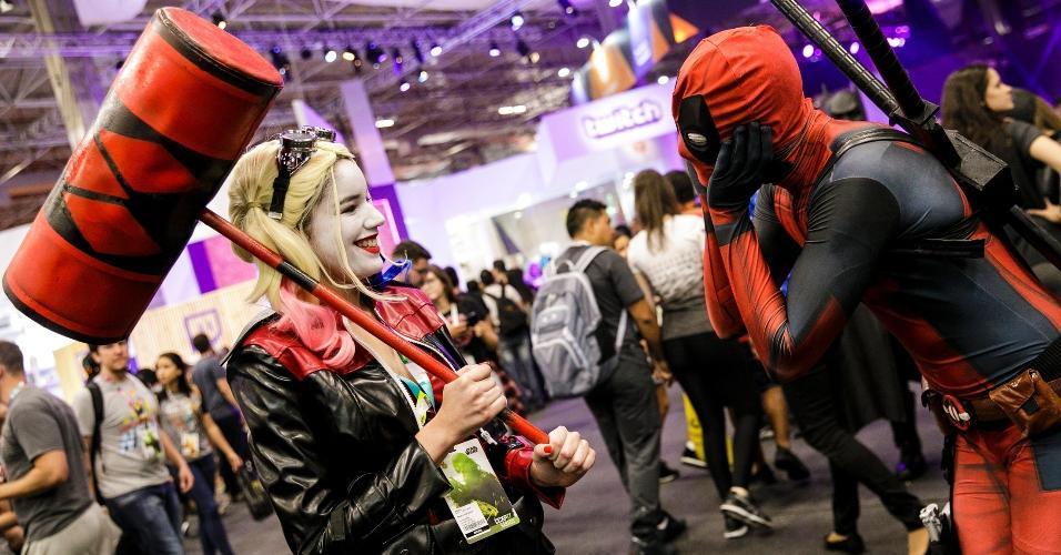 E uma delas se encontrou com Deadpool