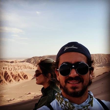 Rafa Brites e Andreoli curtem viagem no Atacama - Reprodução/Instagram/andreolifelipe