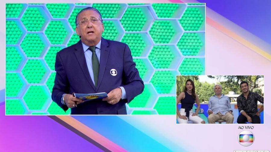 """Galvão Bueno troca nome de Sophia Abrahão ao vivo no """"Vídeo Show"""" - Reprodução/Globo"""