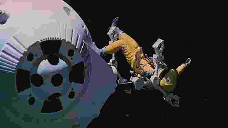 """Cena de """"2001: Uma Odisseia no Espaço"""" - Reprodução - Reprodução"""