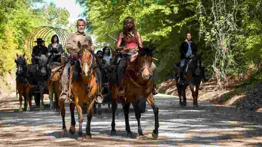Cena do primeiro episódio da nona temporada de Walking Dead - Divulgação
