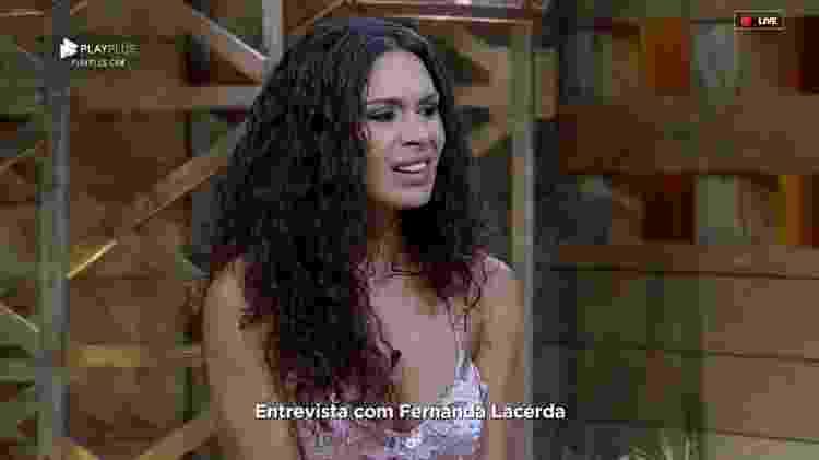 Fernanda - Reprodução/RecordTV - Reprodução/RecordTV