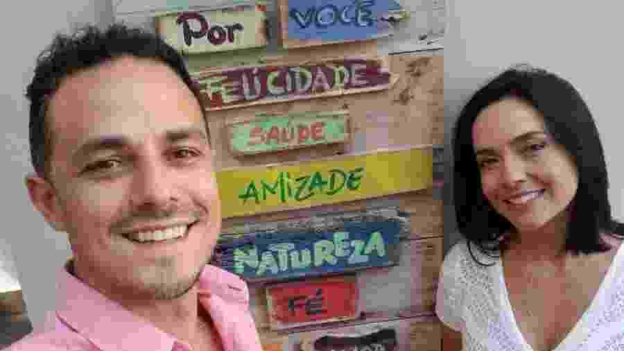 Izabella Camargo e Thiago Godoy Nascimento - Reprodução/Instagram