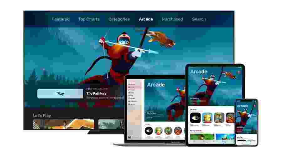 Apple Arcade, novo serviço de assinatura de jogos da Apple - Divulgação