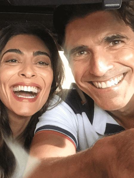 Juliana Paes e Reynaldo Gianecchini - Reprodução/Instagram