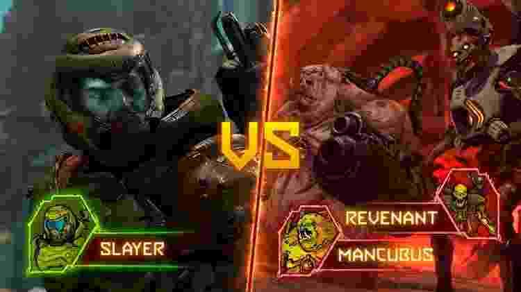Doom Eternal Battlemode - Reprodução - Reprodução