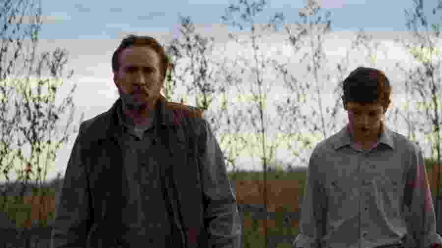 Cena do filme Joe, com Nicolas Cage - Divulgação