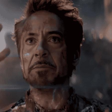 Homem de Ferro (Robert Downey Jr.) em cena de Vingadores: Ultimato - Reprodução