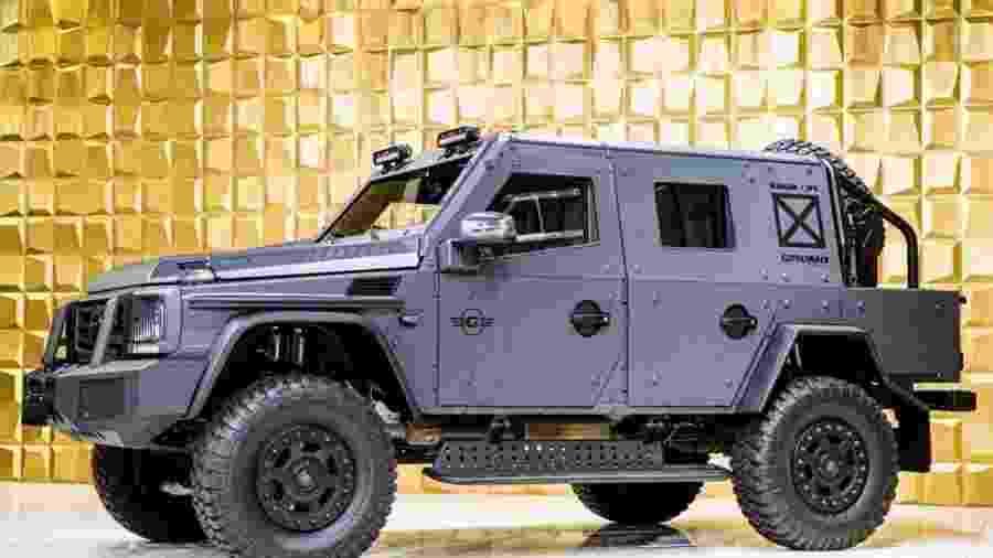 Mercedes-Benz G500 4x4² com blindagem - Divulgação