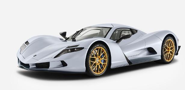 Custa R$ 13,3 mi | Carro com aceleração mais veloz do mundo tem 2.012 cv