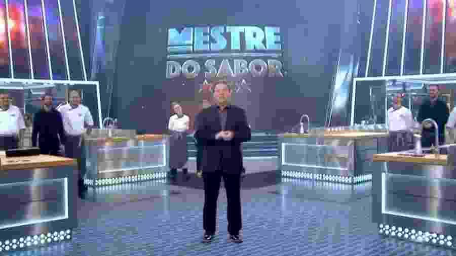 O chef Claude Troisgros comanda o reality Mestre do Sabor, da TV Globo - Reprodução/TV Globo