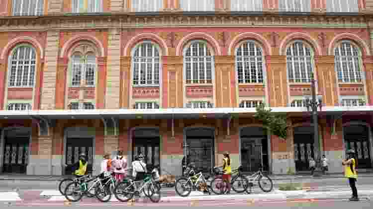 A Estação Pinacoteca também é umas das paradas do roteiro de 6,5 quilômetros - Eduardo Vessoni/UOL