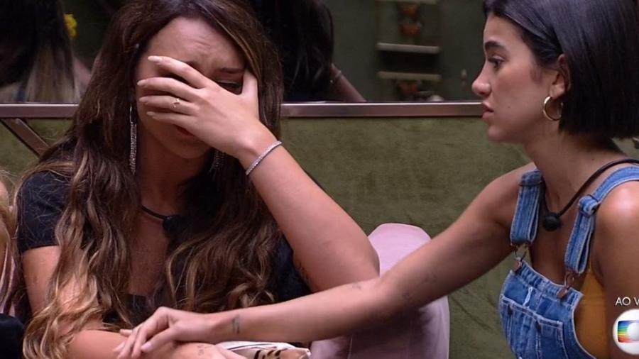 Rafa chora após saber de notícias sobre o coronavírus - Reprodução/TV Globo