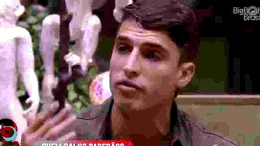 Prior fala sobre o paredão - Reprodução/TV Globo