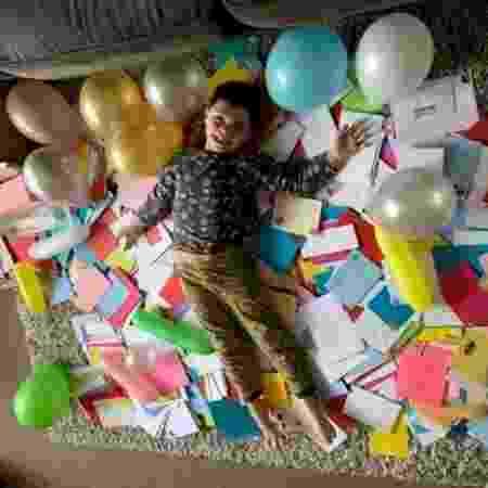 Dylan recebeu 700 cartas de aniversário - Reprodução / Facebook