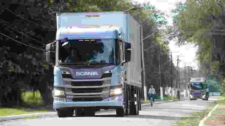 Caminhão Scania 1 - Divulgação - Divulgação