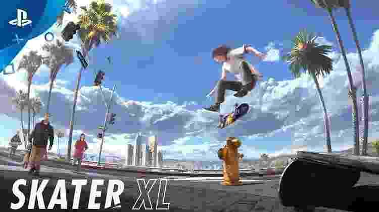 Skate XL videogame - Reprodução - Reprodução