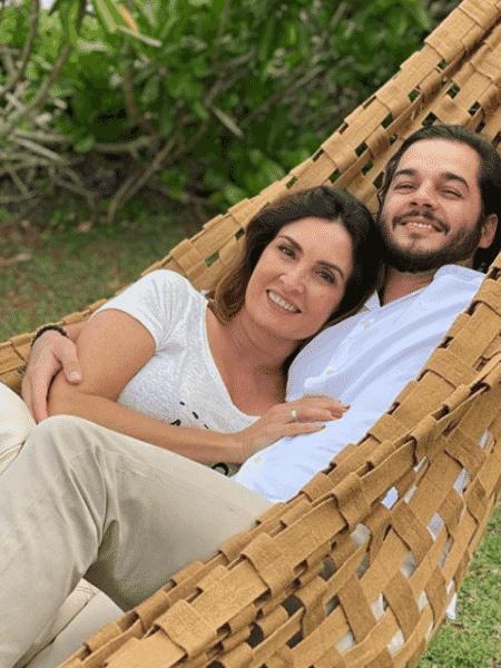Fátima Bernardes com Túlio Gadelha em momento de lazer no final de semana - Reprodução/Instagram/@fatimabernardes