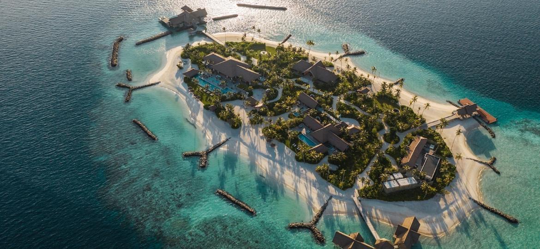 """""""Ithaafushi - A Ilha Particular"""", novo restor nas Ilhas das Maldivas - Divulgação"""