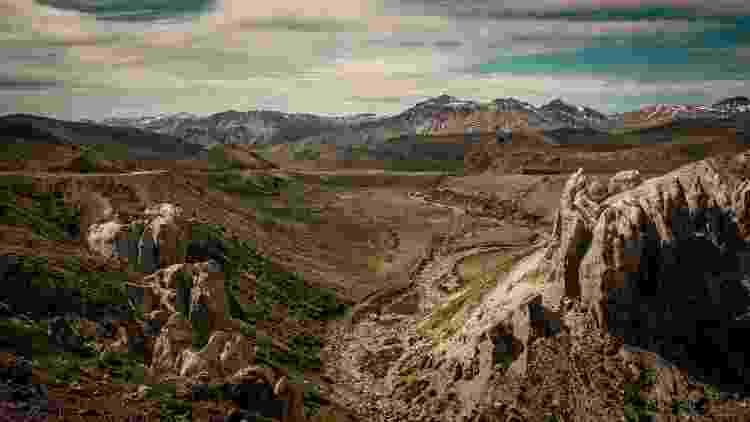 Uma das paisagens exploradas por Camila Stano e Nelson Ortiz de Zárate - Nelson Ortiz de Zárate - Nelson Ortiz de Zárate