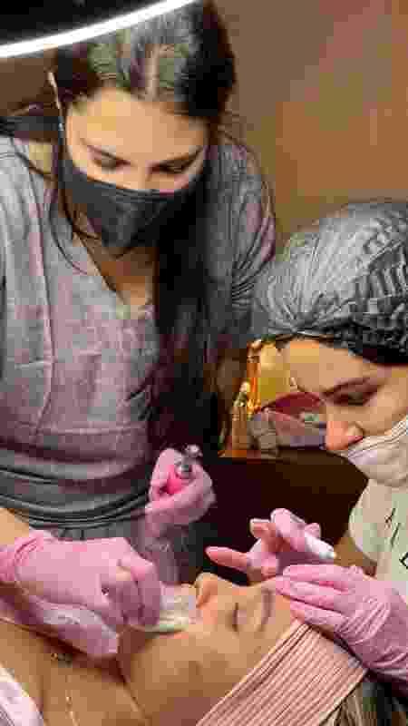 sarah procedimento estético - Divulgação - Divulgação