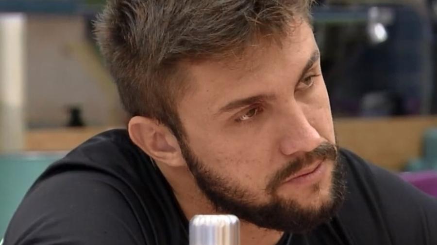 BBB 21: Arthur diz que não ficará ate o fim da prova se for resistência - Reprodução/Globoplay