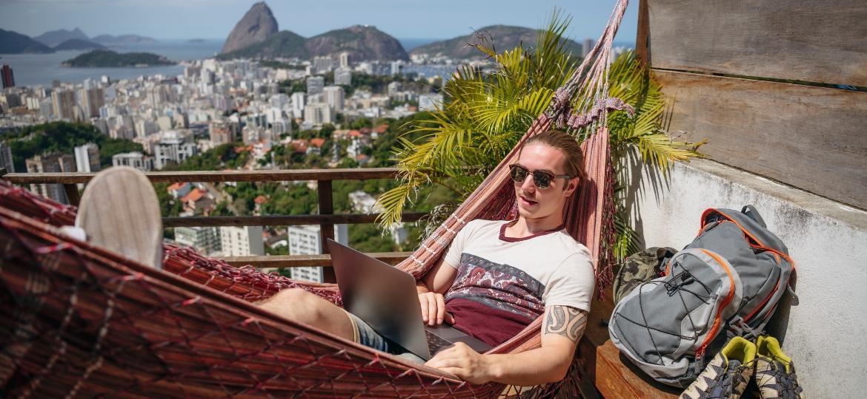 Rio de Janeiro quer ser uma das cidades do mundo a abrir para os nômades digitais - Getty Images