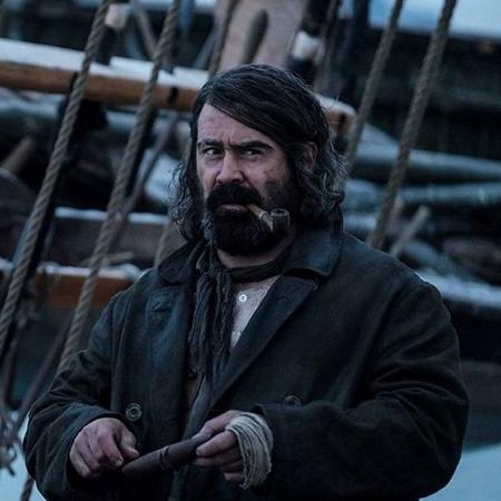 """Colin Farrel em cena de """"The North Water"""" - Divulgação/BBC"""