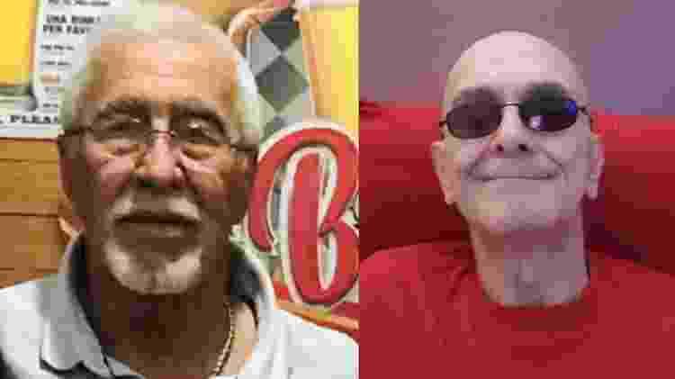 Idosos com HIV: José Armando de Gouveia e Mario Lago Filho - Arquivo pessoal - Arquivo pessoal