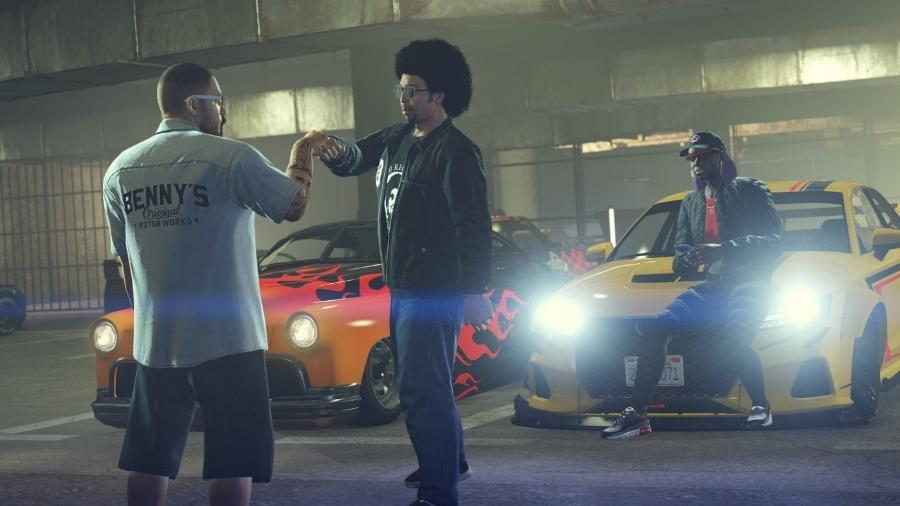 GTA Online Los Santos Tuners - Divulgação/Rockstar