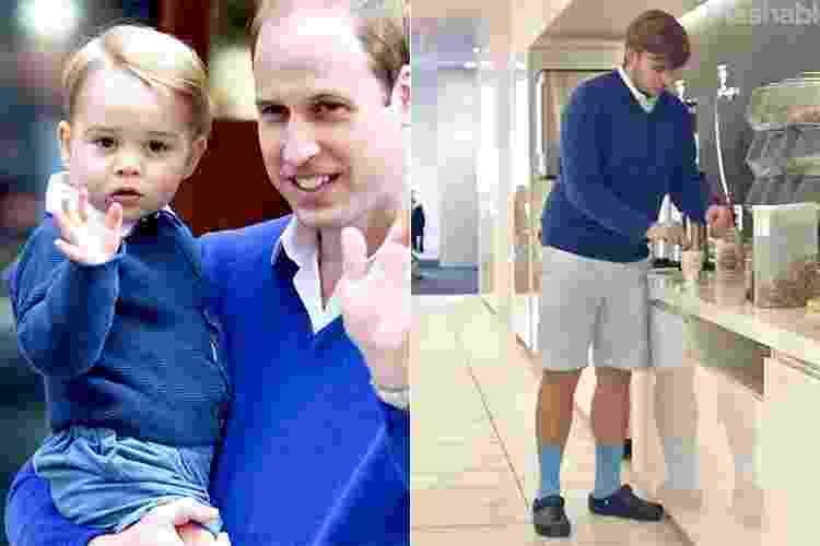 Homem se veste como príncipe George por uma semana - Reprodução/still/Mashable