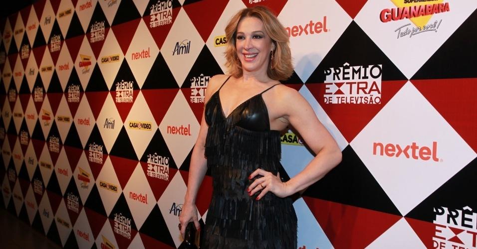 17.nov.2015 - Claudia Raia na 17ª edição do Prêmio Extra de Televisão, no Rio de Janeiro