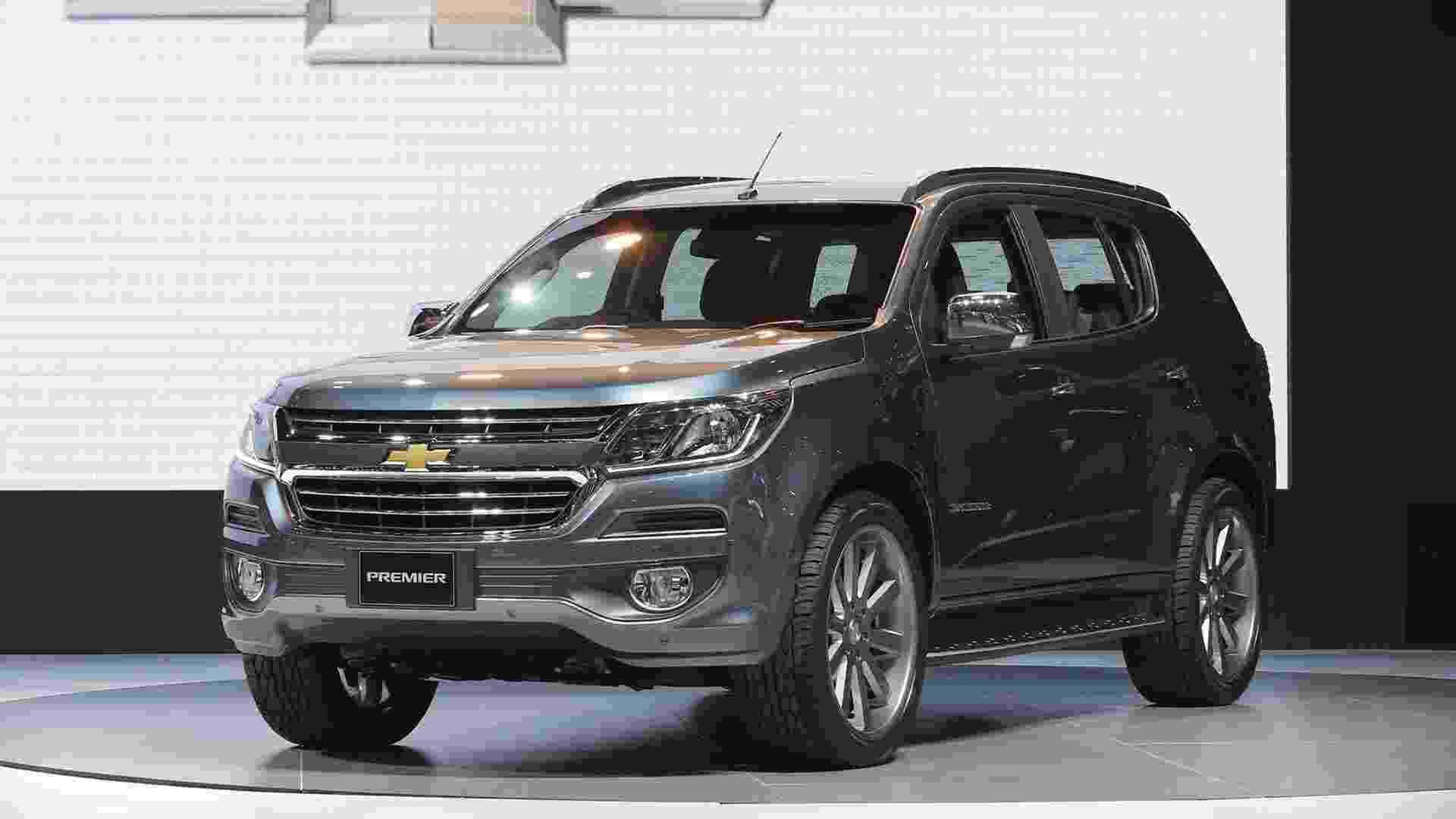 Chevrolet Trailblazer Premier - Divulgação/Chevrolet Thailand