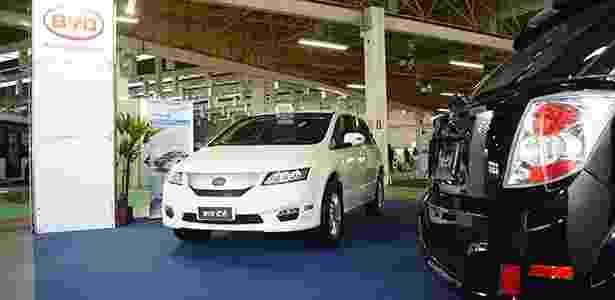 Chinesa BYD mostra o E6, carro elétrico que vai virar táxi em São Paulo - Murilo Góes/UOL - Murilo Góes/UOL