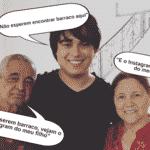 A briga da filha Camargo por causa de Graciele chegou até o filho caçula de Zezé, Igor. Mas o garoto parece ser o mais sensato da família e botou ordem em seu perfil no Instagram. Ele avisou que apaga todos os comentários ofensivos e não quer saber de barraco na rede social dele - Montagem/UOL