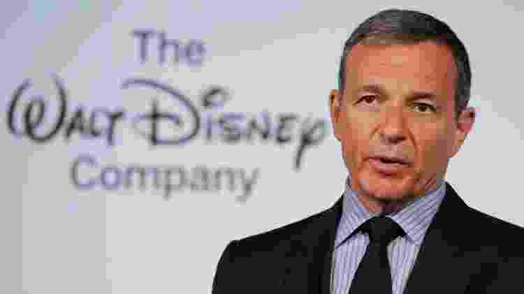 O CEO da Disney, Bob Iger - Getty Images