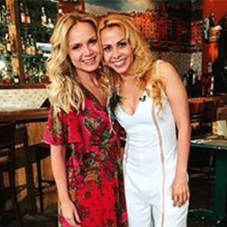 Joelma posta foto com Eliana - Reprodução / Instagram