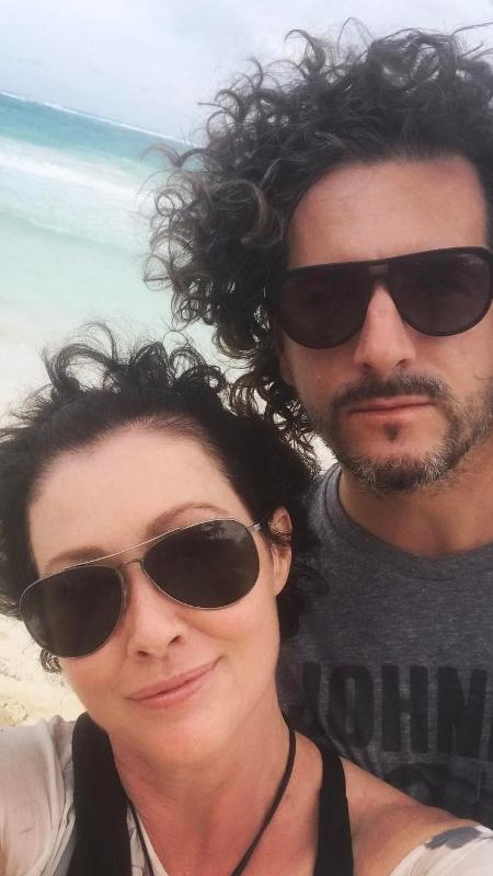 """Shannen Doherty, de """"Barrados no Baile"""", mostra como cabelo cresceu após tratamento contra câncer - Reprodução/Instagram"""