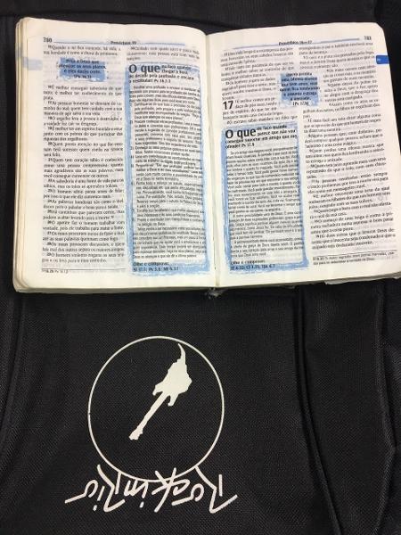 Bíblia está entre os itens perdidos pelo público do Rock in Rio 2017 - Giselle de Almeida/UOL