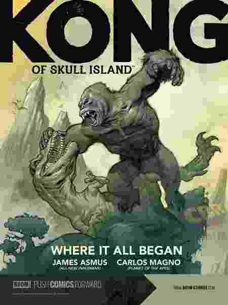 """O brasileiro é a mente por trás da saga """"Kong of Skull Island"""", da BOOM!, um grande sucesso das HQs - Divulgação - Divulgação"""