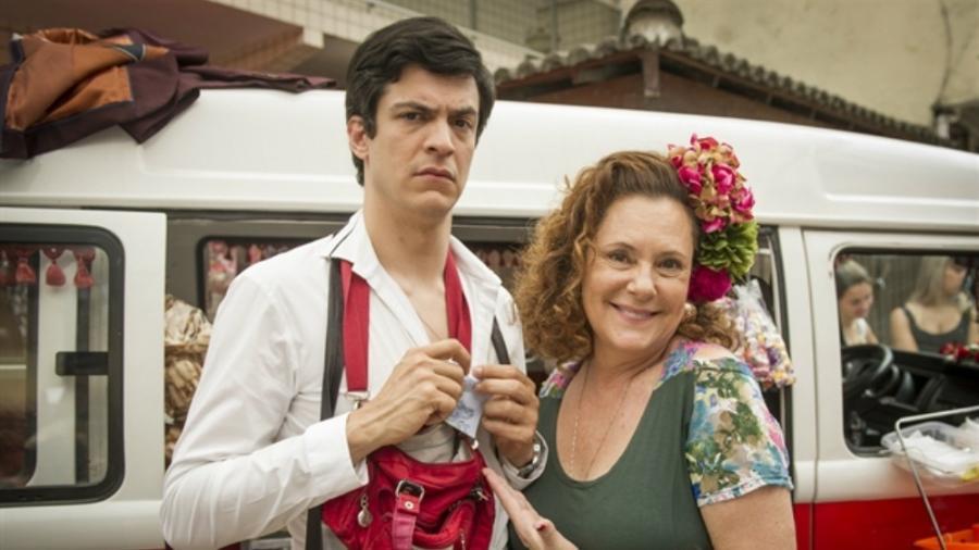 """Mateus Solano e Elizabeth Savalla na novela """"Amor à Vida"""" - Globo/João Cotta"""