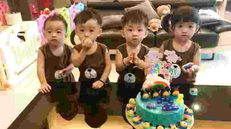 Filhos de Doreen Ching - Reprodução/Facebook - Reprodução/Facebook