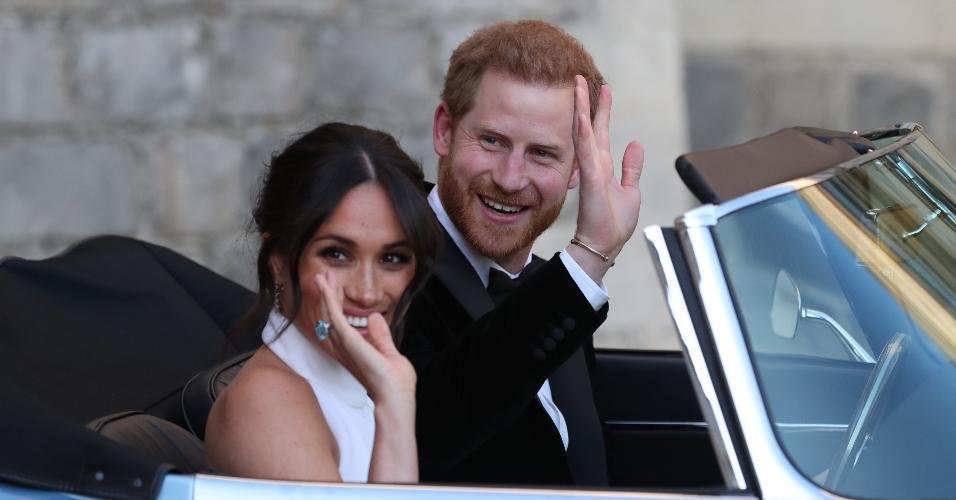 Harry e Meghan wedding reception