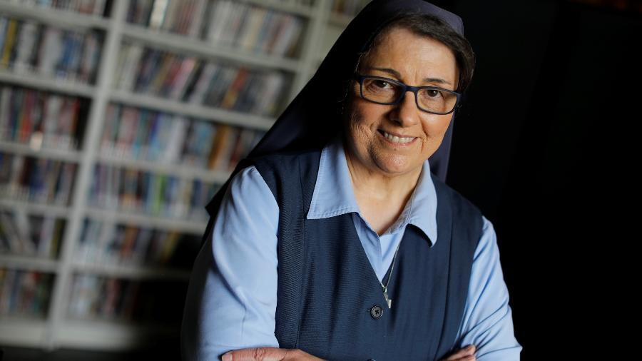 Irmã Rose Pacatte, a freira que faz resenhas de livros - Mike Blake/Reuters