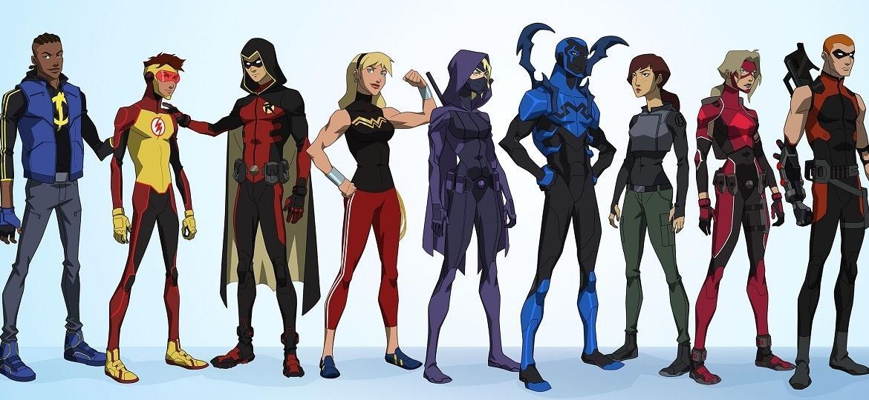 """Heróis de """"Young Justice"""", série de animação da DC Comics - Reprodução"""