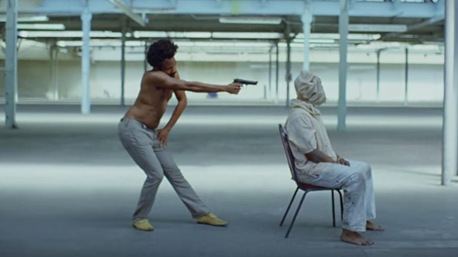 """Cena do clipe """"This is America"""", de Childish Gambino - Reprodução"""