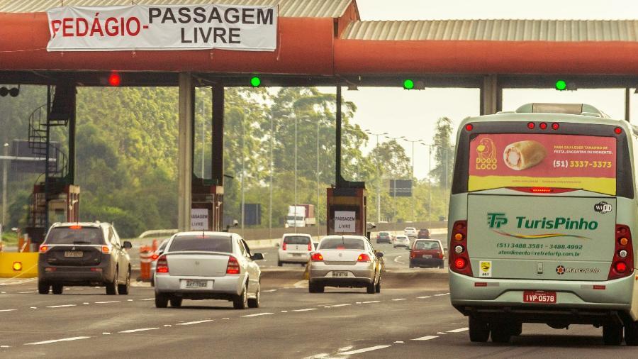 ANTTapresentou hoje (20) proposta para reajustar tarifa nas praças de pedágio de rodovias federais e avalia parcelar aumento - Evandro Leal / Agência Freelancer